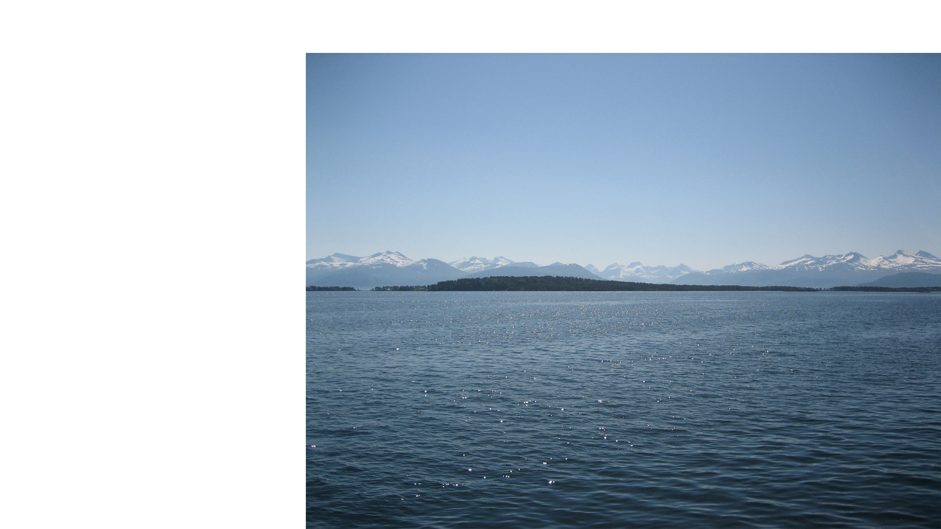 Seascape at Molde, Norway