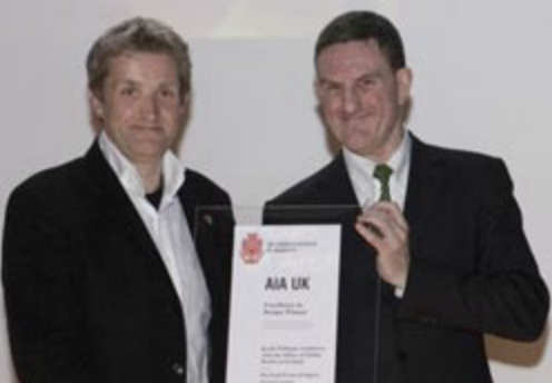 Keith Williams and Peter Rees : AIA UK Excellence in Design Award