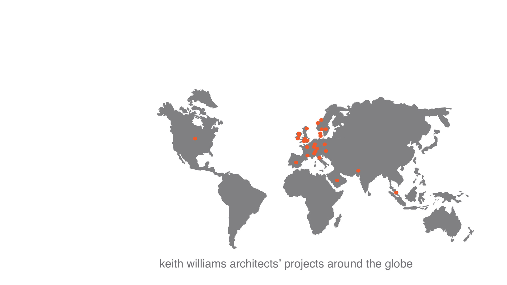 Keith Williams Architects' projects around the globe