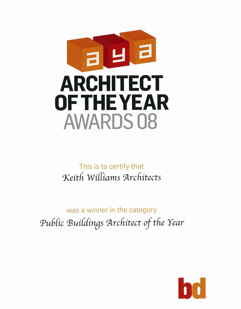 BD Public Building Architect of the Year Award