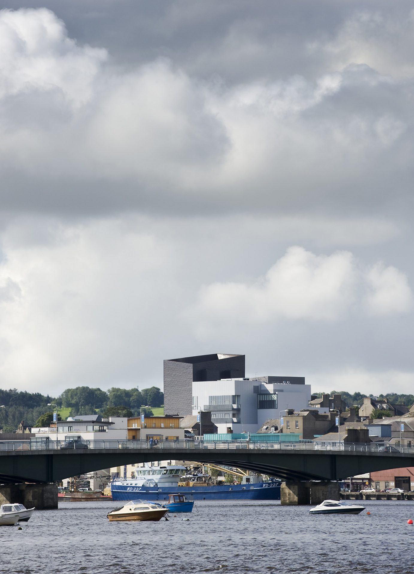 National Opera House viewed from across the River Slaney, Wexford Ireland