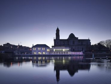 Luan Gallery Athlone Ireland from the River Shannon