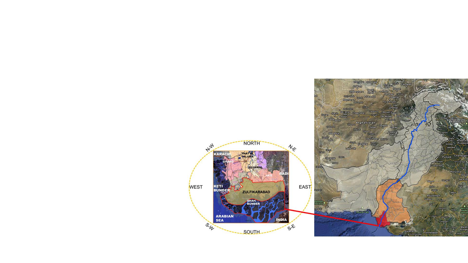 Location plan Zulfurikarabad Mega City Masterplan Pakistan