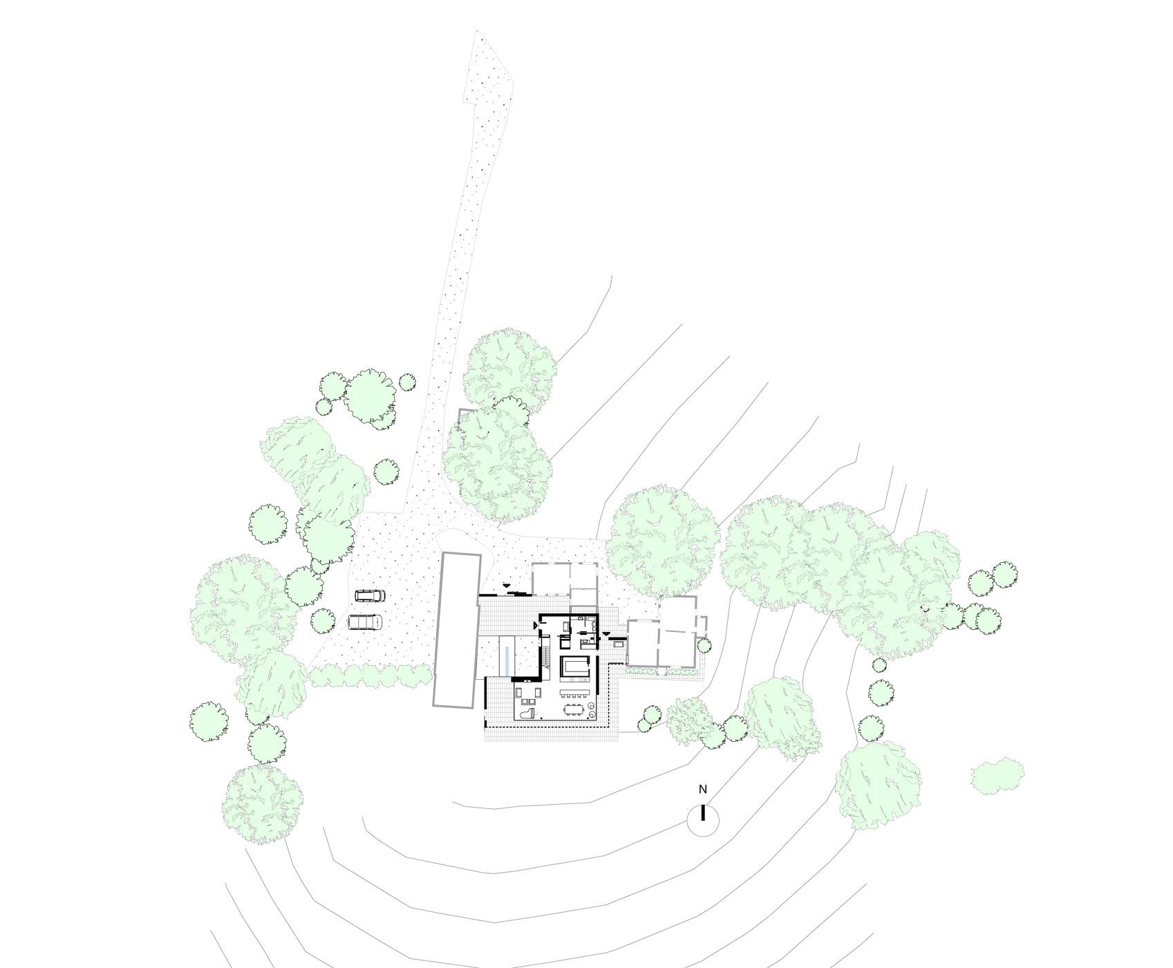 North Farm House Site Plan