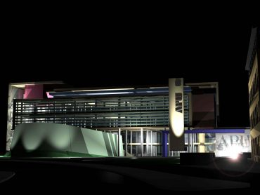 3D rendering of proposed Centre for Business Management and Post Graduate Studies Anglia Ruskin University