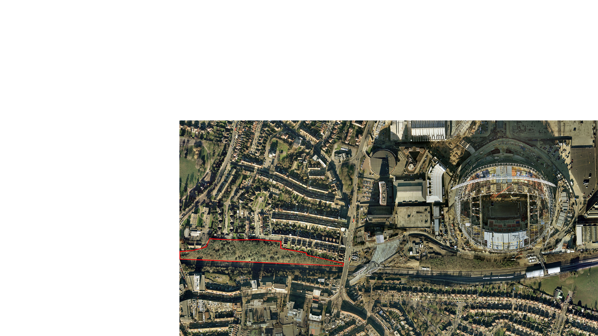 Masterplan for High Road Wembley