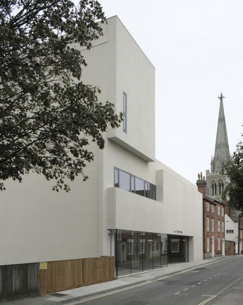 Novium Museum nears completion