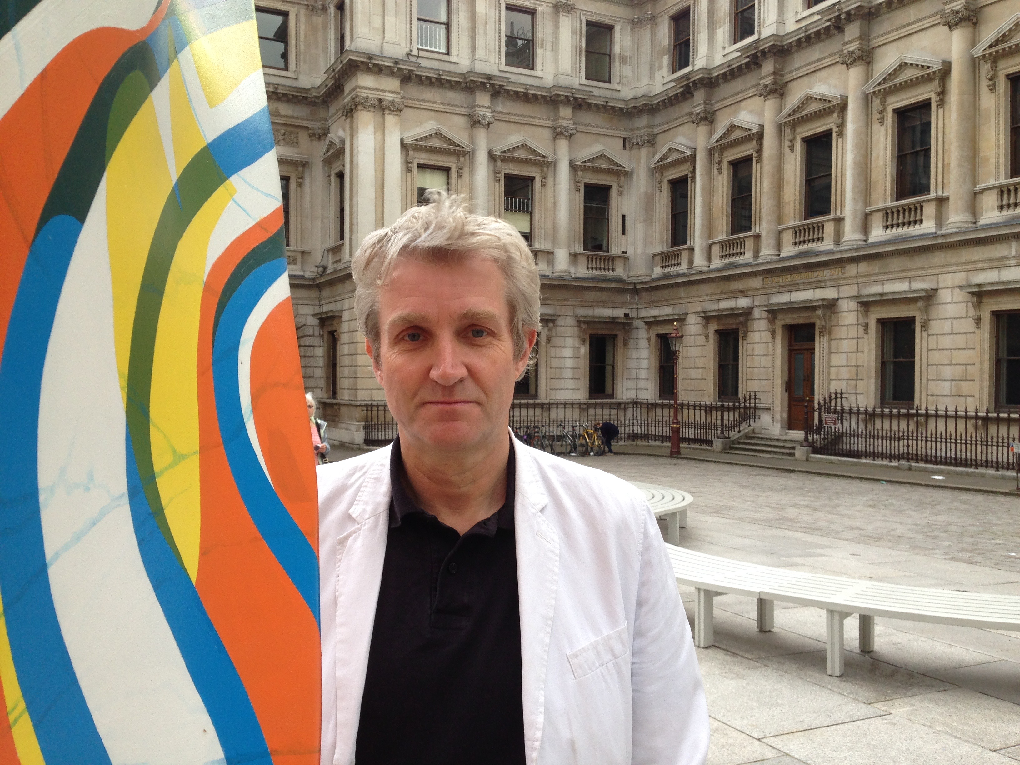 Keith Williams at the Royal Academy