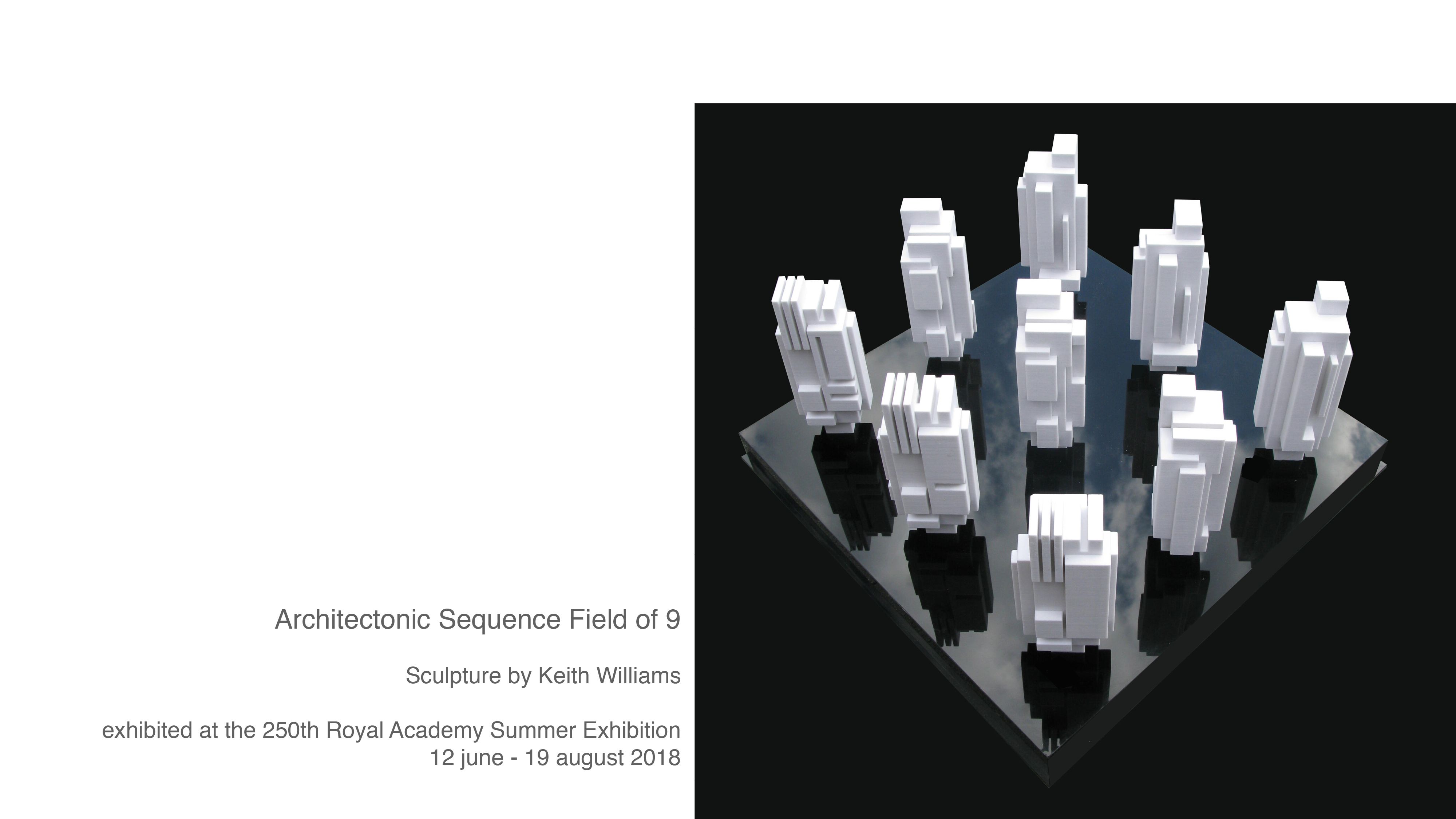 250th Royal Academy Summer Exhibition, Architectonic Sequence: Field of 9